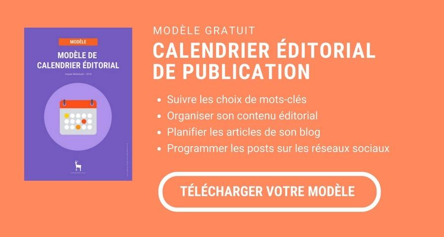 Calendrier Editorial Modele.Entreprises Btob Comment Creer Un Calendrier Editorial