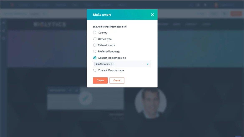 Hubspot CMS - Smart Content