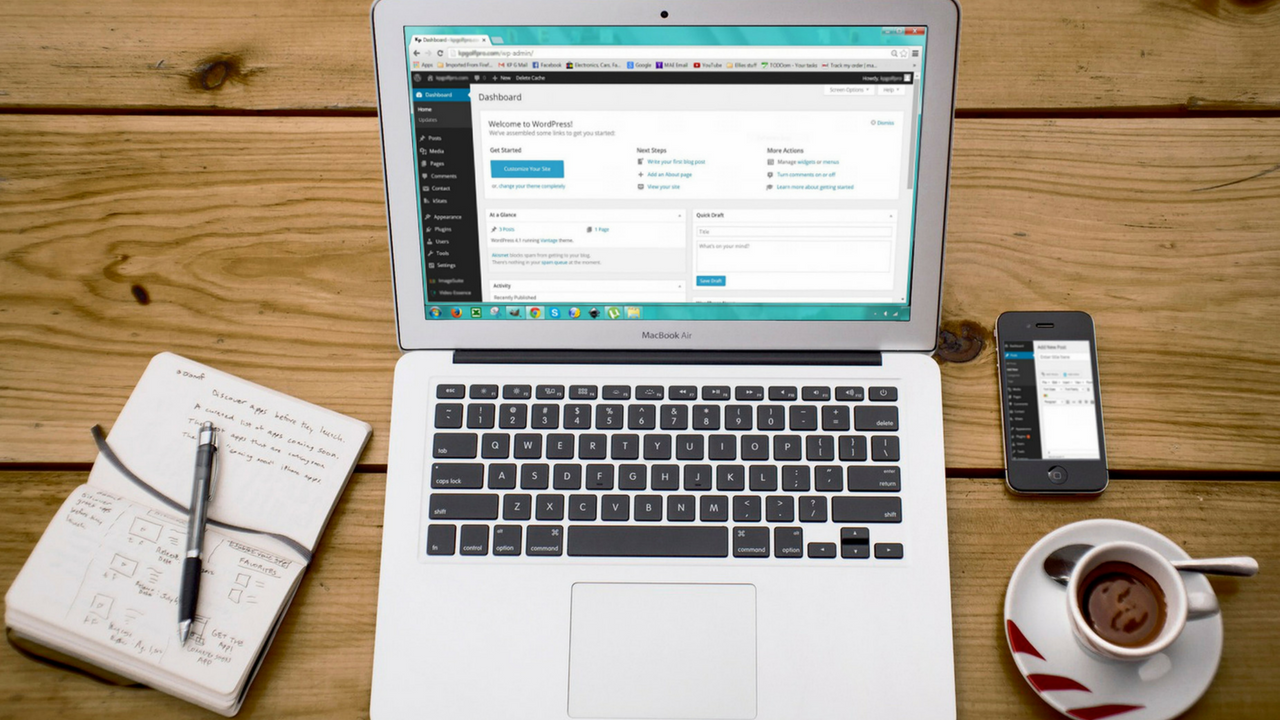Création de site Internet : le CMS Wordpress