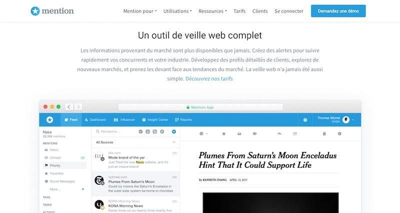 Veille web   Mention ✪